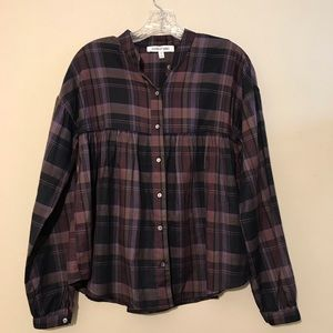 Elizabeth and James Womens Top size S button front